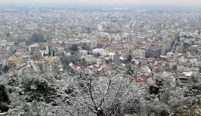 Σέρρες χιόνια χιονοπτώσεις Χωρίς προβλήματα αλυσίδες χιονοπτώσεις
