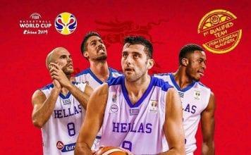 FIBA 2019 ΕΛΛΑΔΑ ΕΘΝΙΚΗ ΕΛΛΑΔΟΣ