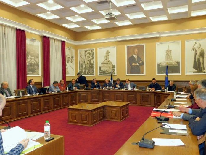 Σερρών θέματα Δημοτικό LED Τετάρτης Συμβούλιο κατεπείγουσα