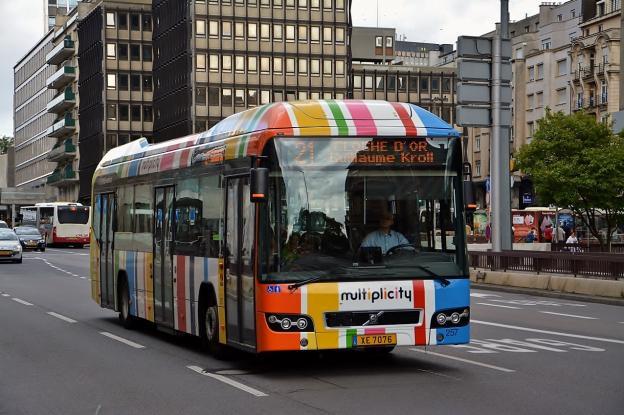 δωρεάν μέσα μεταφοράς Λουξεμβούργο