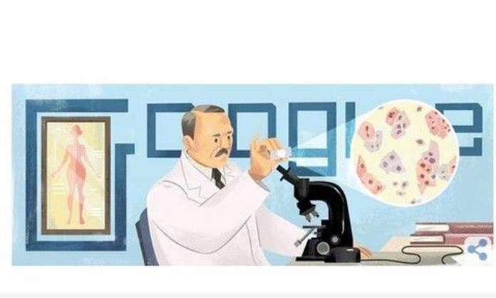 Γεώργιος Παπανικολάου google doodle