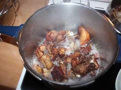 παραδοσιακά Ελληνικά φαγητά - τσιγαρίδες