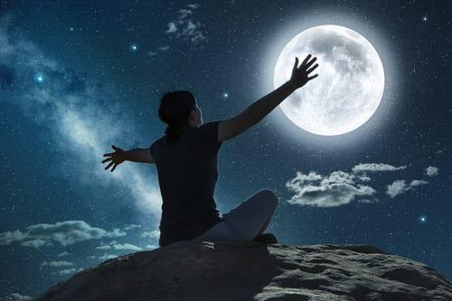 Σελήνη ύπνος