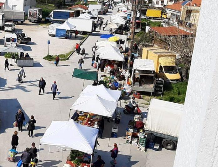 Λαϊκή Νιγρίτας λαϊκές λαϊκές αγορές