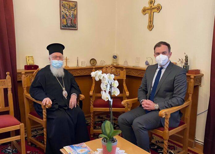 Αρχιεπίσκοπο Αλβανίας