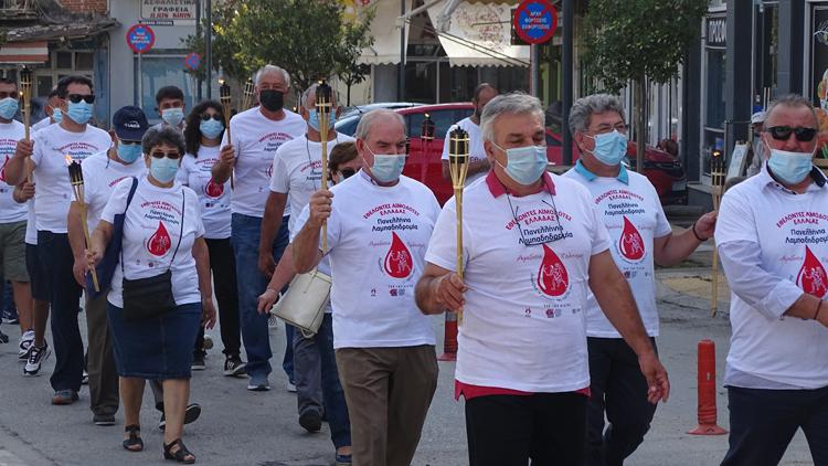 """Ο Δήμος Βισαλτίας υποδέχθηκε τη """"Φλόγα serrespost.gr"""