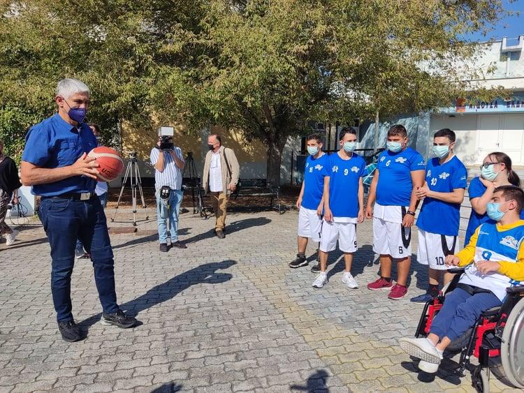 """Στις Σέρρες ο """"θρύλος"""" του ελληνικού μπάσκετ Serrespost.gr"""