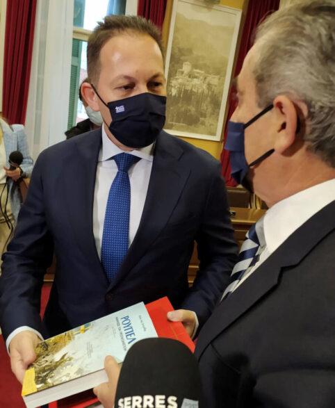 Στο Διοικητήριο Σερρών ο αν.Υπουργός serrespost.gr